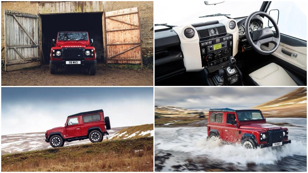 IN PICTURES: Land Rover launches V8 edition to celebrate 70th anniversary