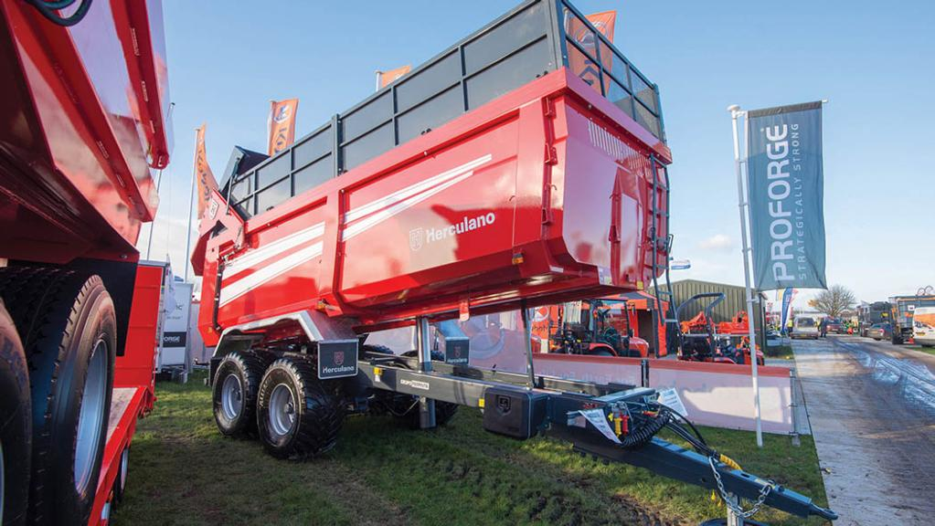 Lamma Show 2018: Trailers and transport
