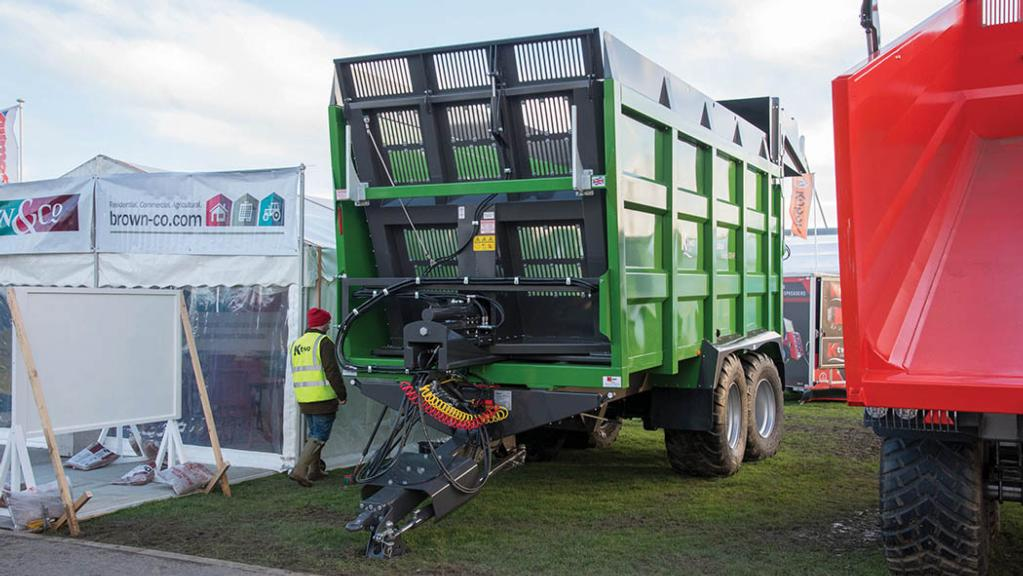 K-Two Rodeo trailer with active steer
