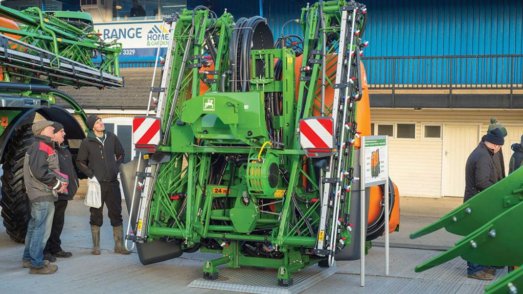 Amazone UF2002 mounted sprayer