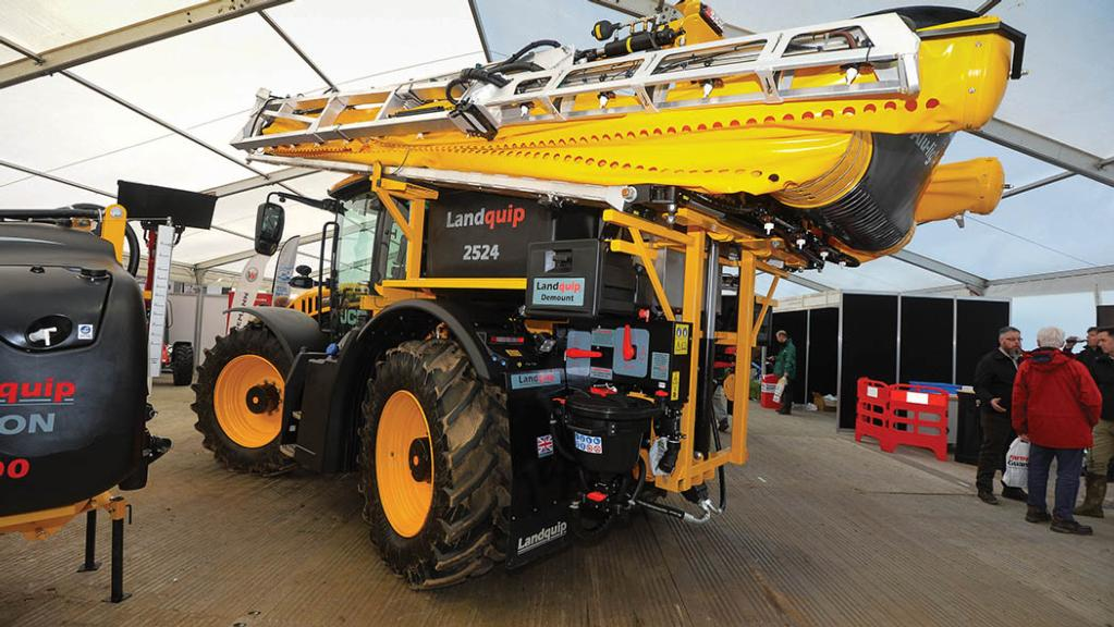 Landquip Air Sleeve Boom