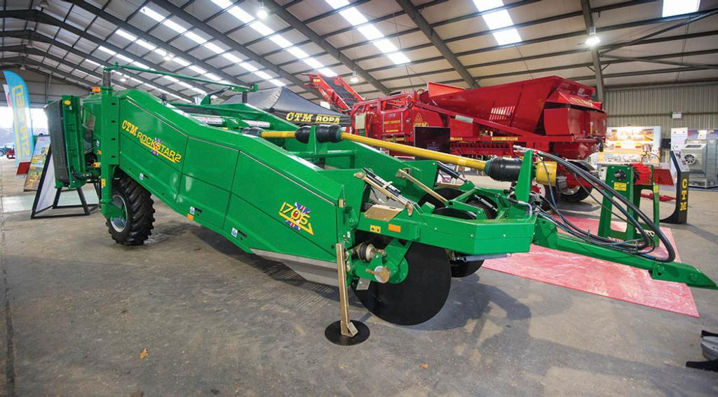 Lamma Show 2018: Root crop equipment