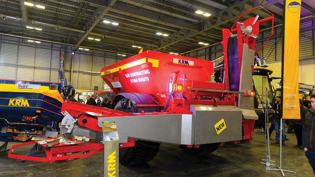 KRM Bredal lime spreader