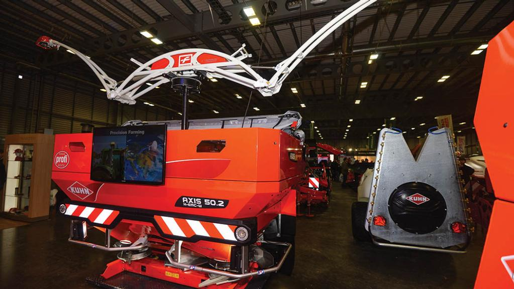 Kuhn boosts spreader accuracy