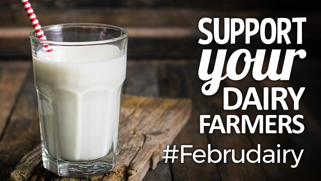 Support your dairy farmers: #Februdairy launches to silence industry critics