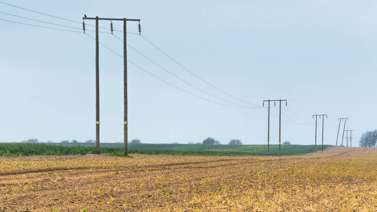 'Stay in the cab and ring 105' - tips for working around overhead power lines