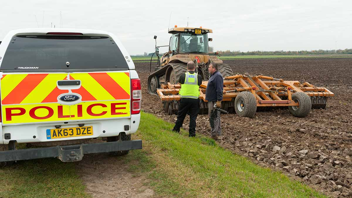 Farmers turn to medieval methods to fight off rural crime as costs hit four-year high