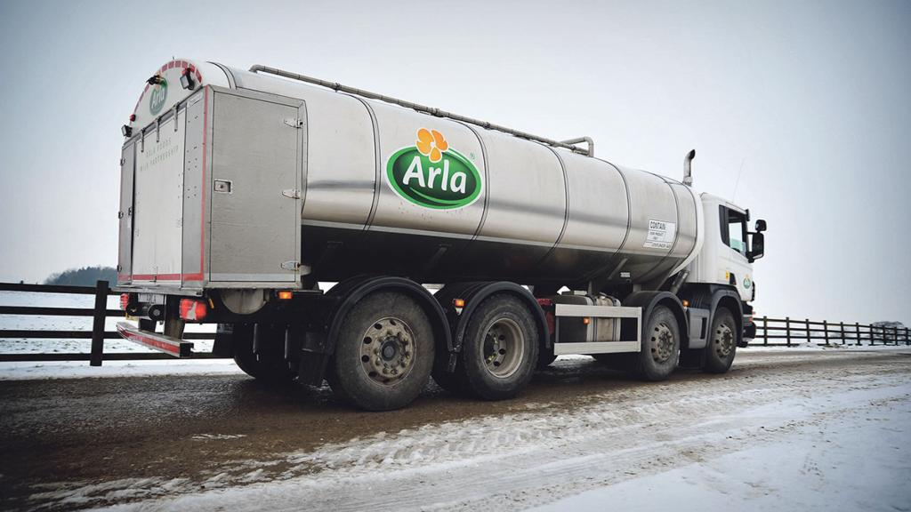Arla drops February milk price