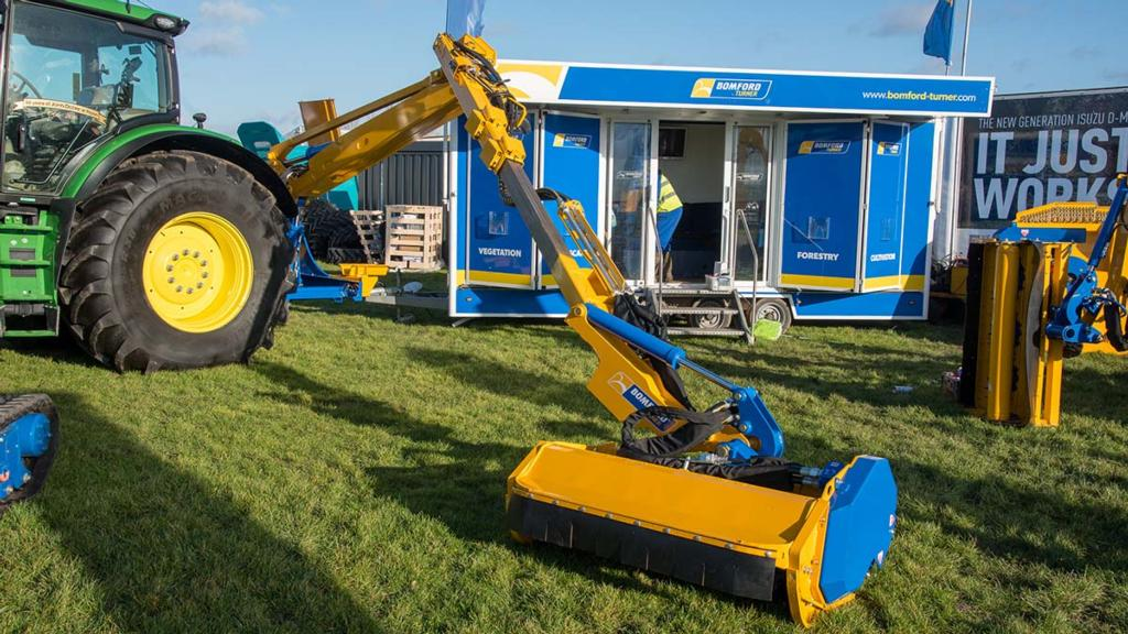 Lamma Show 2018: Land maintenance machinery