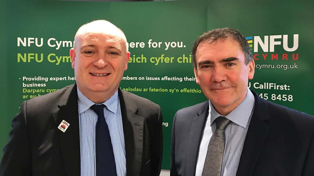 New president and deputy president for NFU Cymru