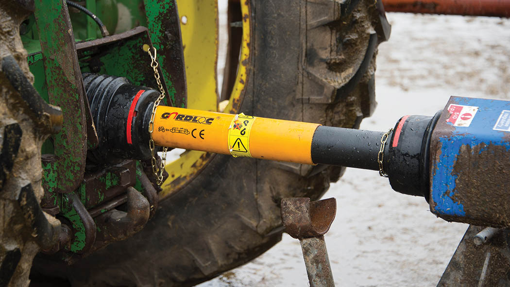 Farm safety: How to fit a new and safe pto shaft guard