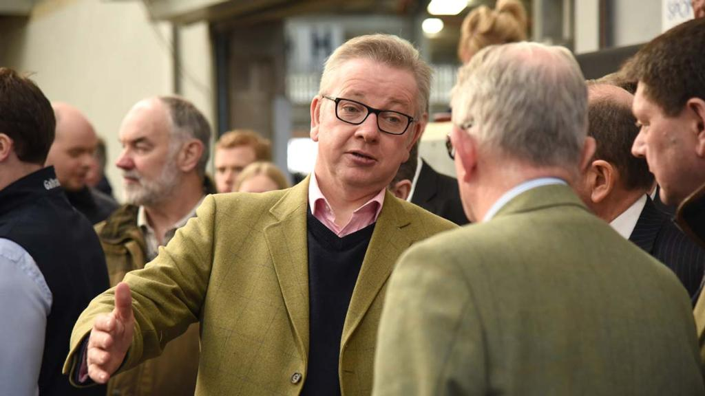 Gove admits Defra has neglected food production in formulation of policy