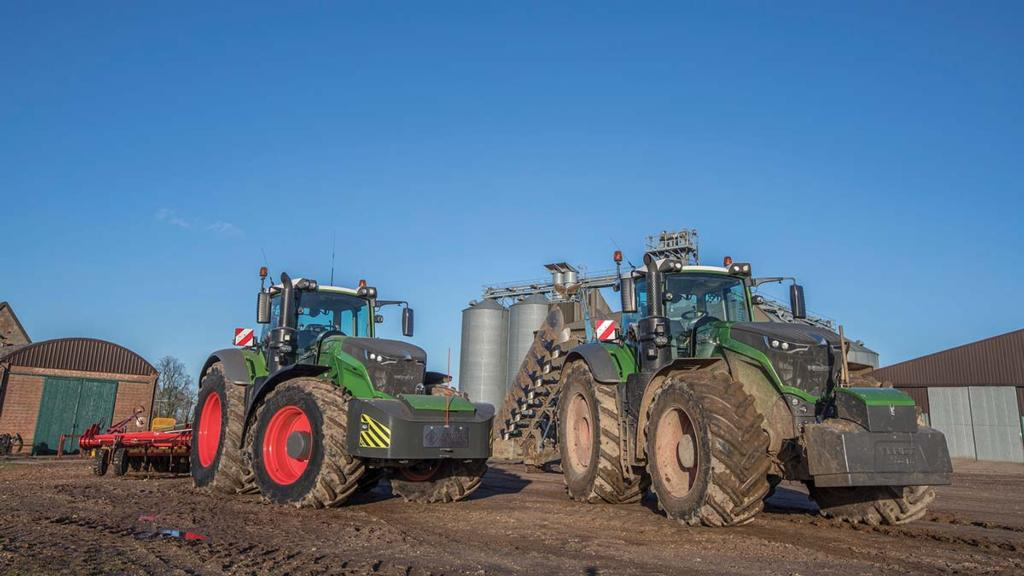 Farmer switches to tyres to cut costs and add flexibility