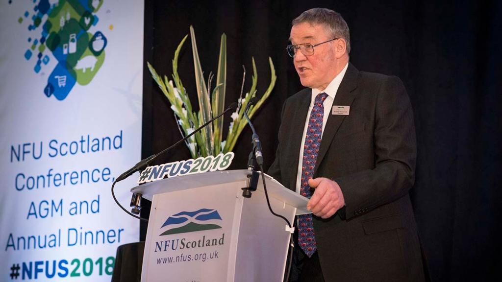 NFUS 2018: 'Our supply chain is broken' - Farmers need fairer return of consumer spend