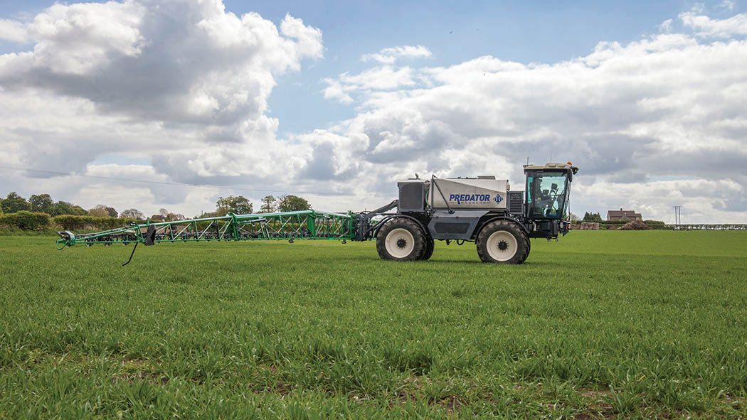 Featuring an all new chassis design, Househam has launched a new flagship self-propelled sprayer.