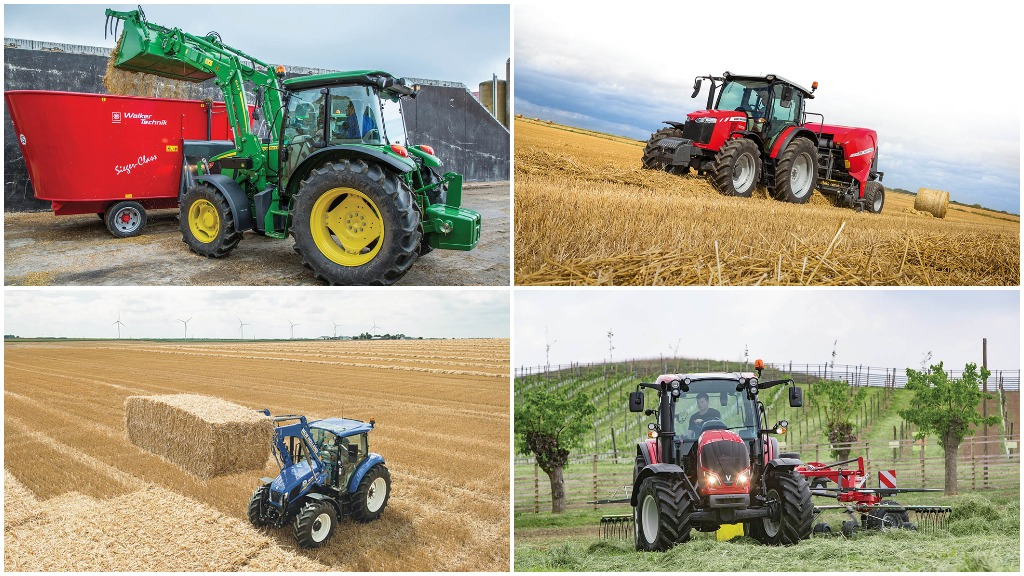 Simple steeds: The latest 100hp tractors for your farm