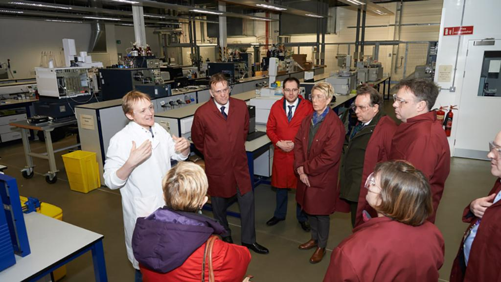 MPs visit Fera and CHAP at National Agri-Food Innovation Campus