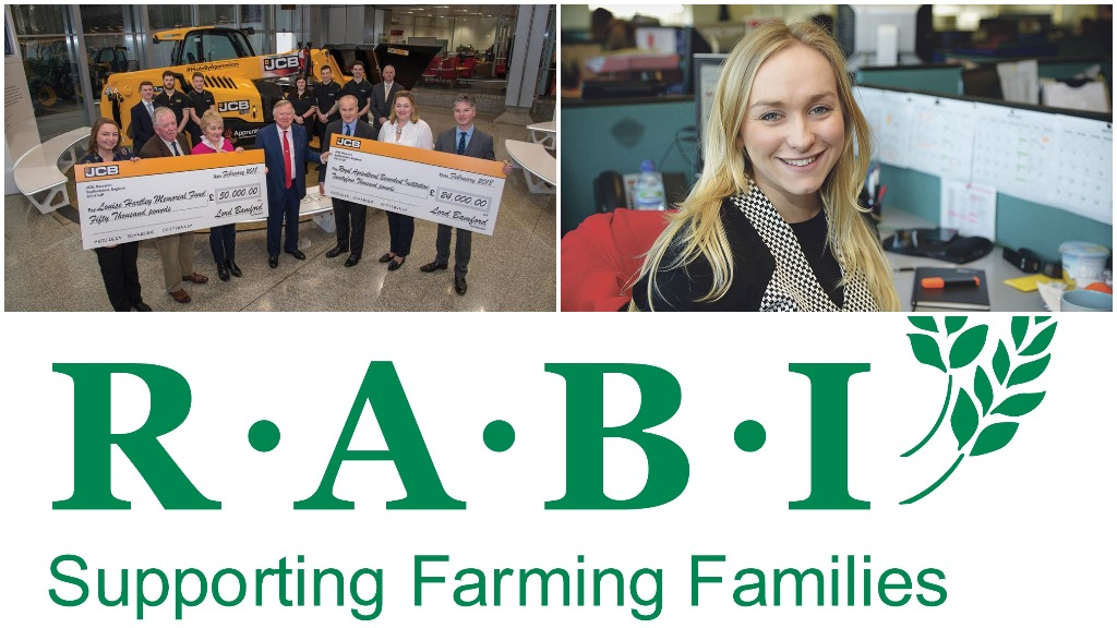 Farmers Guardian and JCB raise £74,000 for farming charities