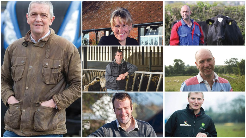 Meet the runners and riders in the NFU leadership elections