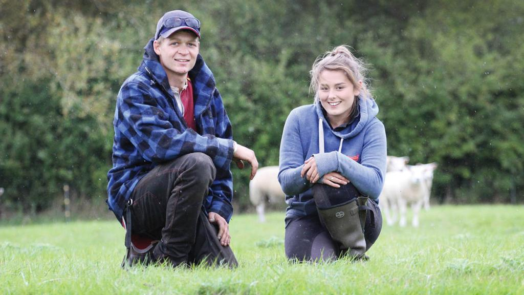 'We live and breathe farming' - young couple making a name for themselves in sheep industry