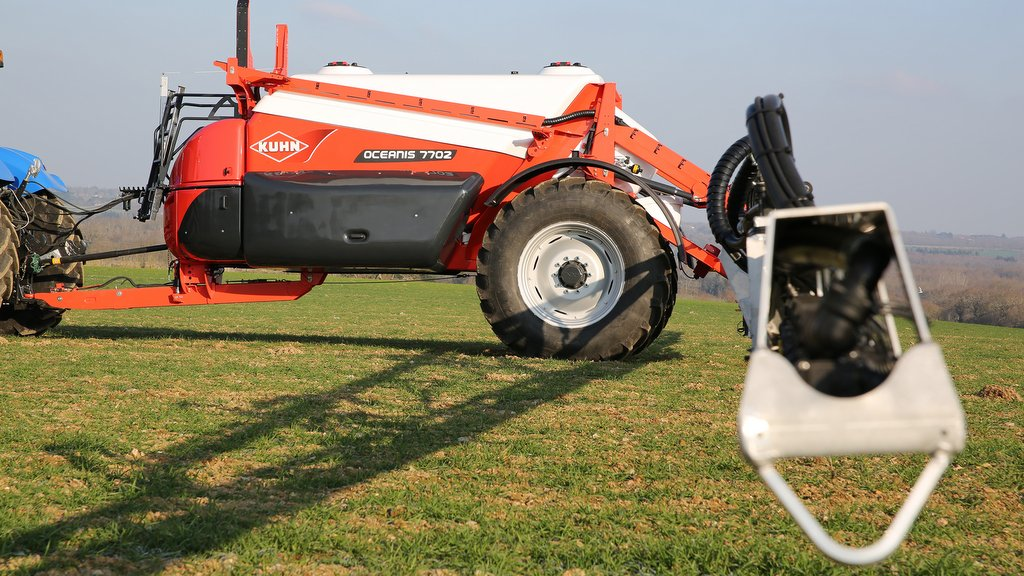 Kuhn's new Oceanis 7702 is the largest in the range, shown here with a conventional bi-fold boom.