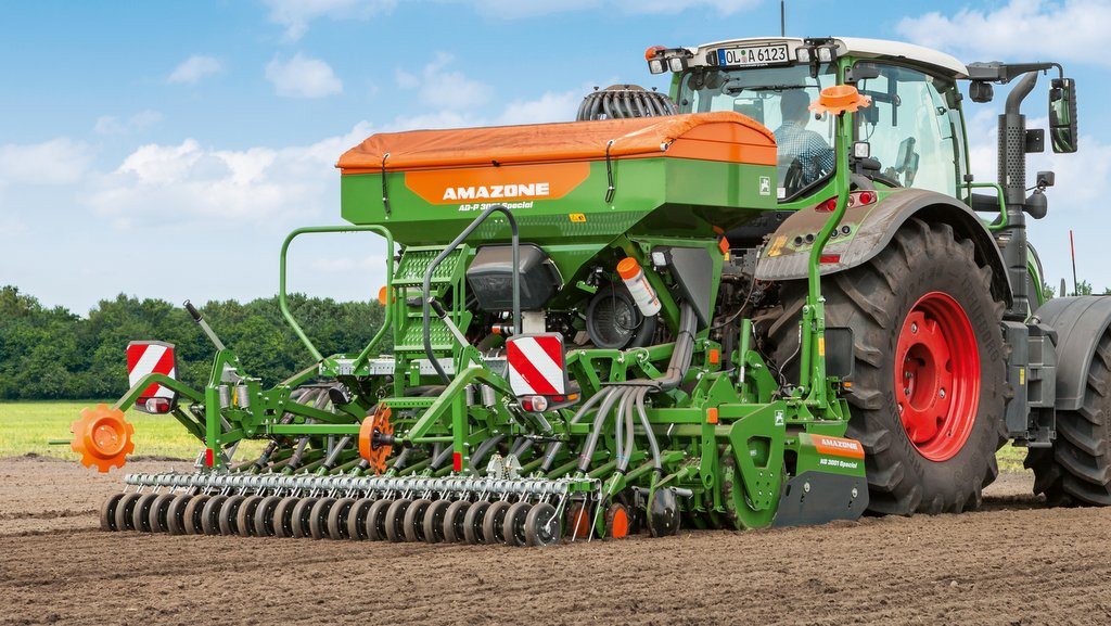 Improved features for Amazone's combi air drill