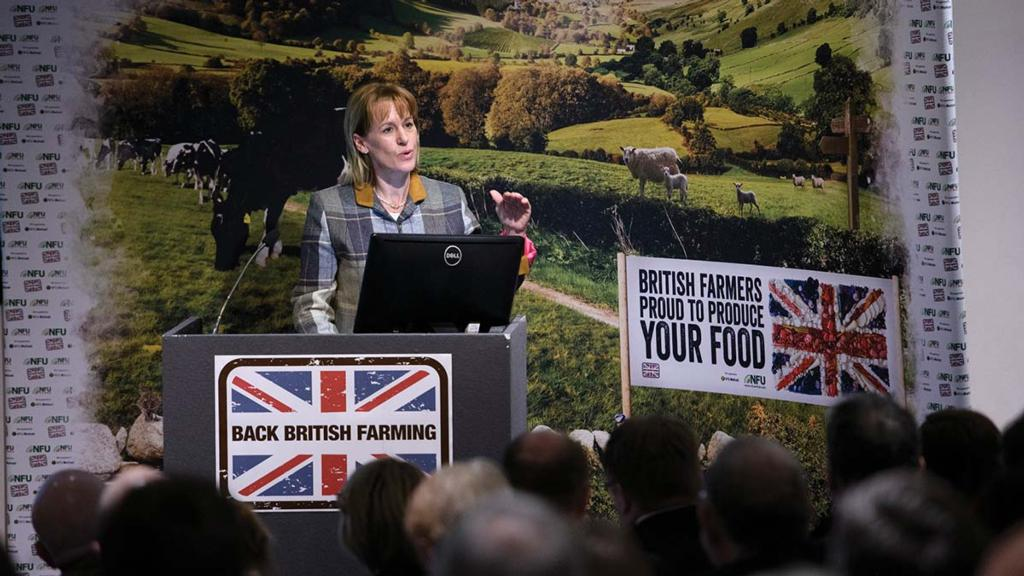 Put food top of the agenda, NFU tells Defra in consultation response
