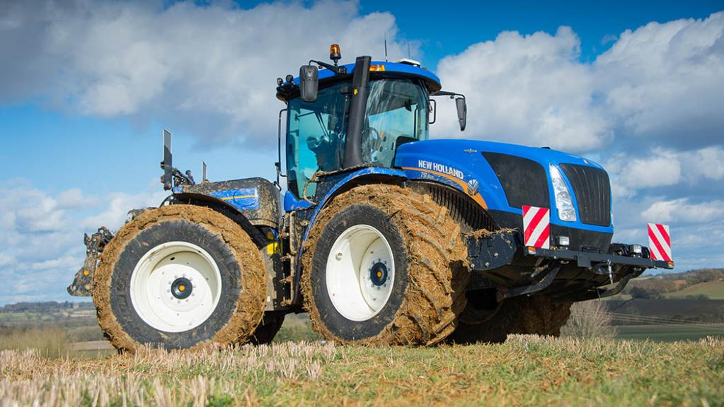 VIDEO: New Holland launches 600hp CVT tractor