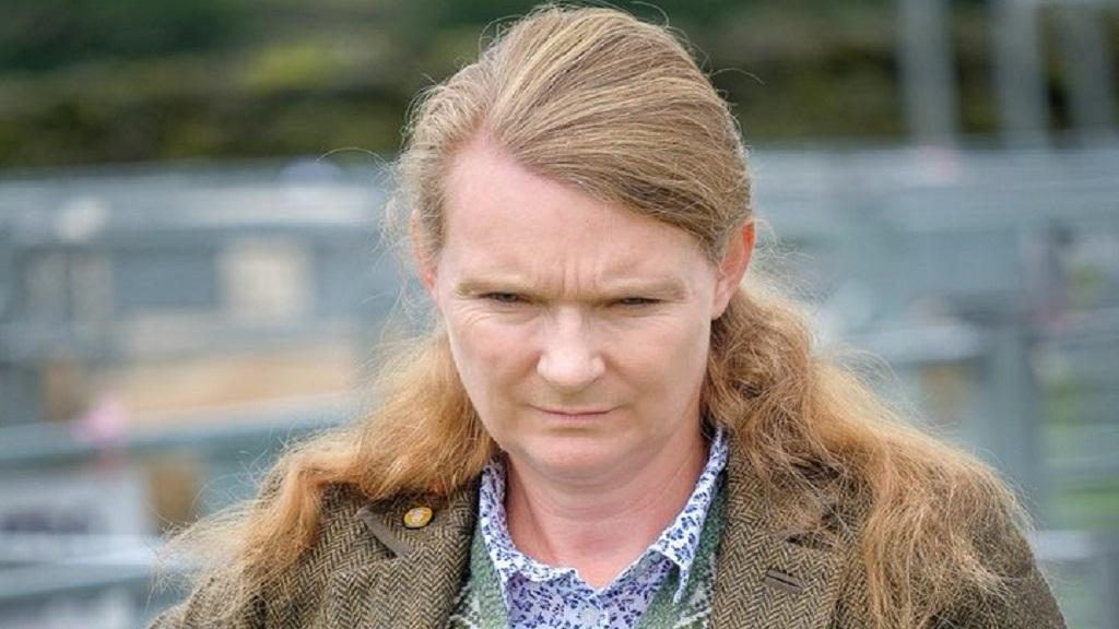 Andrea Meanwell, judging one of the shepherds meets in the Lake District. (CREDIT: Bill Robertson)