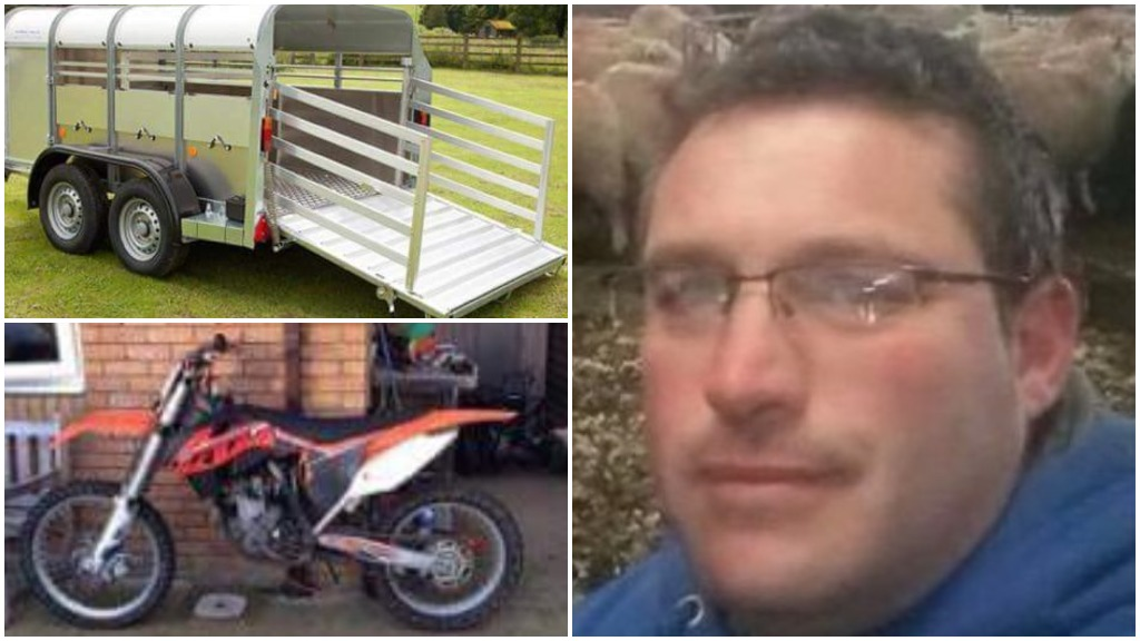 Farm equipment worth £18k stolen from farmer who helped in heavy snow