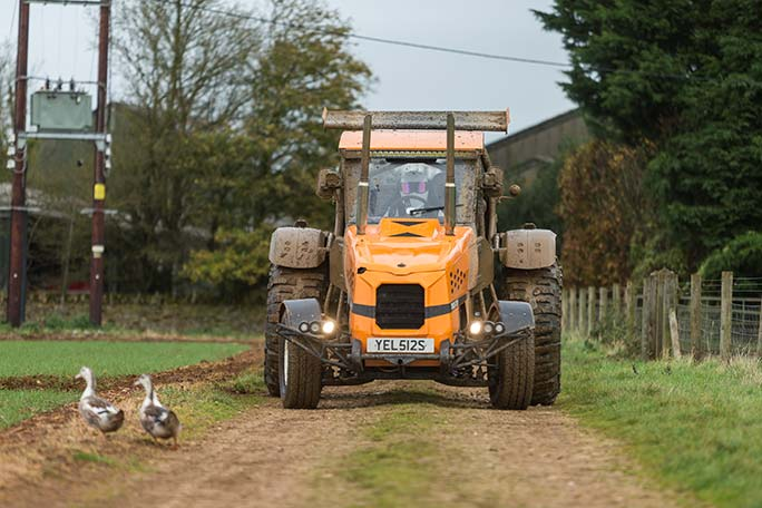 Fastest Tractor Farming : In pictures introducing the world s fastest tractor at