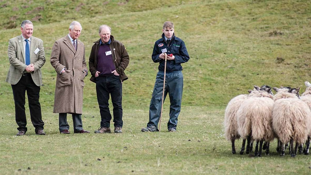 Prince Charles praises young farmers for commitment to ag industry