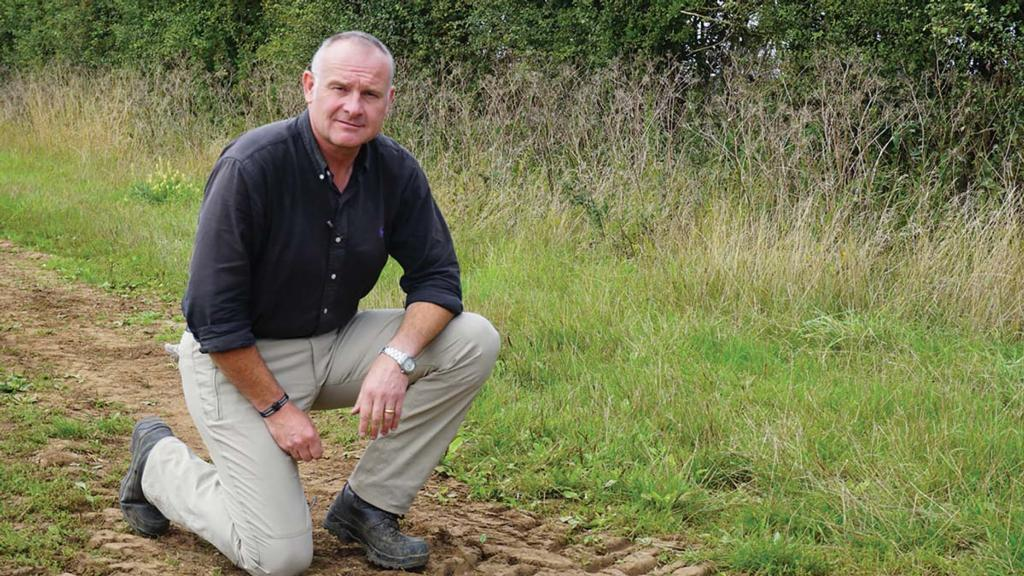 Sean Sparling, AICC chairman, Lincoln Heath. Two fields of Kerrin, drilled September 12 and October 5.