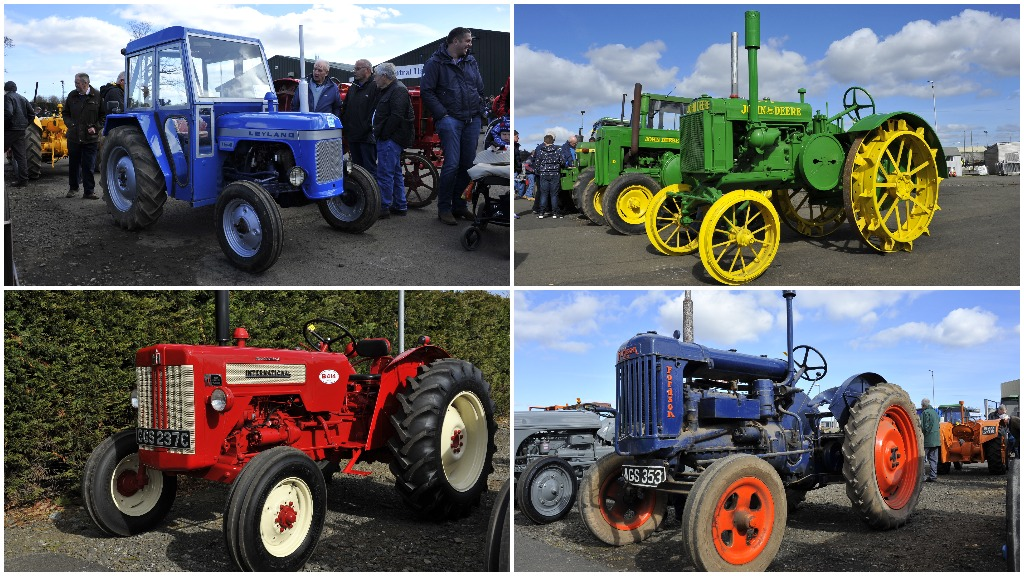 PICTURE GALLERY: Vintage and classic tractors take centre stage