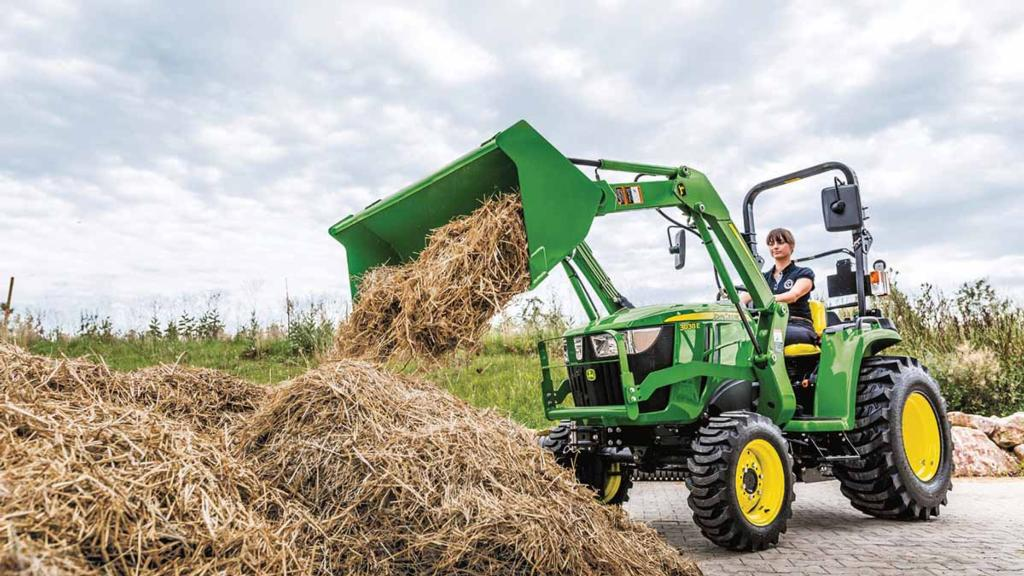 A closer look at John Deere's new 3038E compact tractor