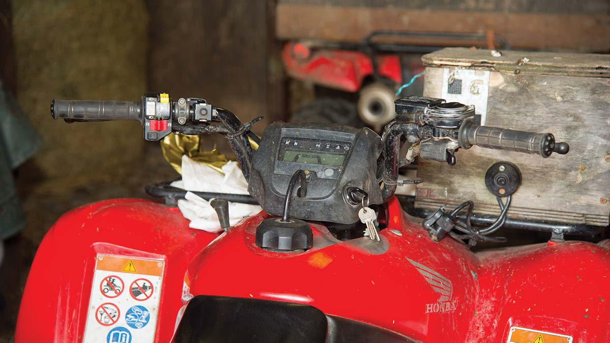 Levels of rural crime jump 13 per cent as thieves target quad bikes