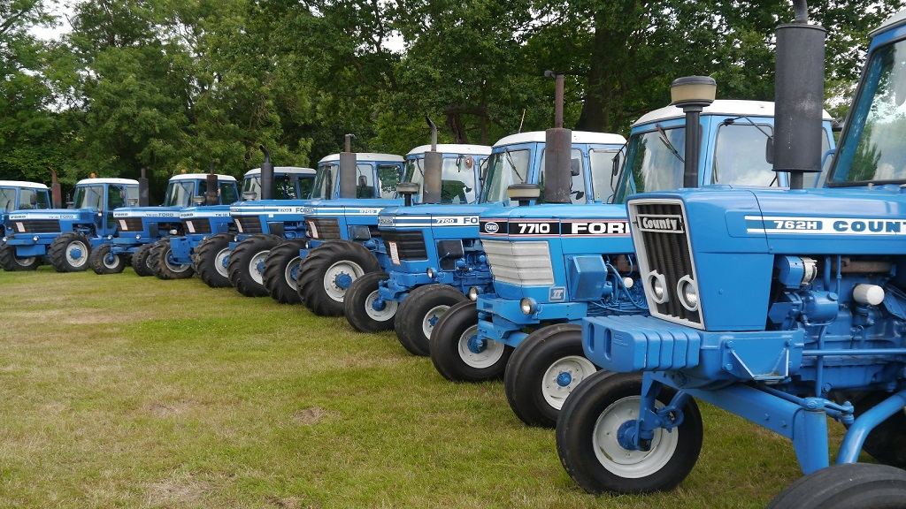 UK's most impressive collection of classic Ford and Fordson tractors goes under the hammer