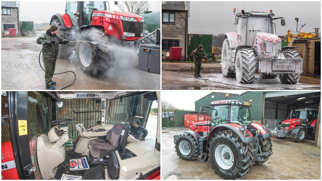 Handy hints: Top 5 tractor cleaning tips for every farmer