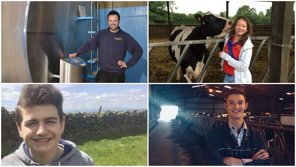Looking ahead: 4 young farmers tell us their hopes for the future