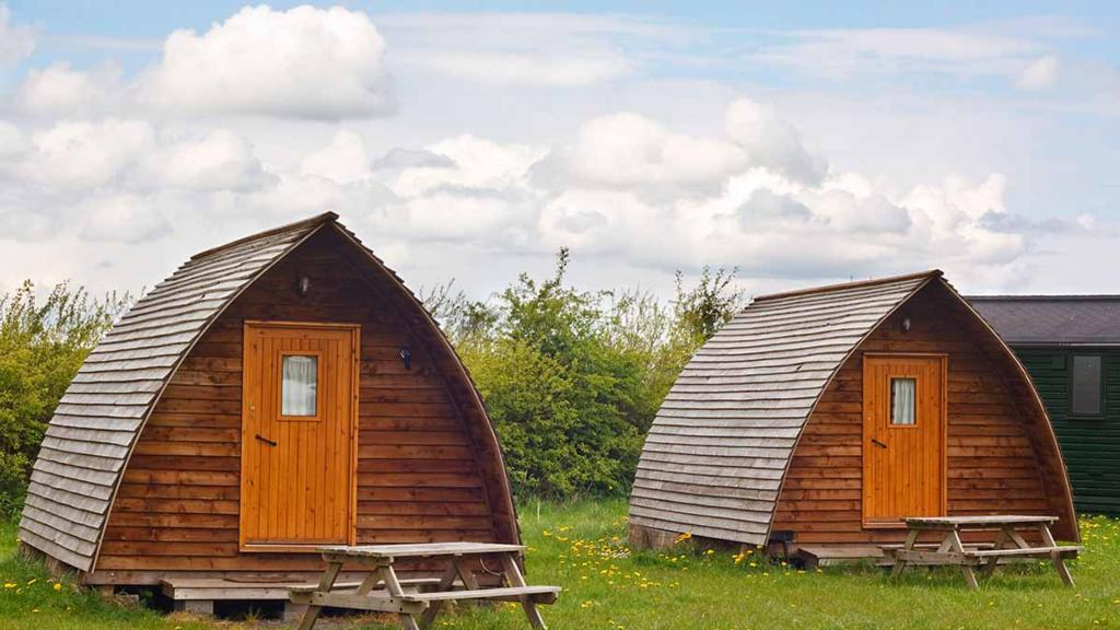The rise in demand for glamping allows UK farms to flourish