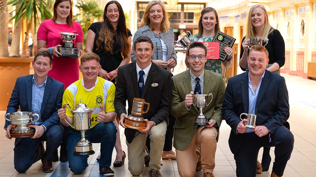 Meet the trophy winners from YFC AGM 18 in Blackpool