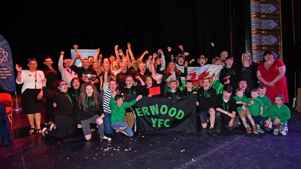 Erwood YFC crowned champions of national pantomime final