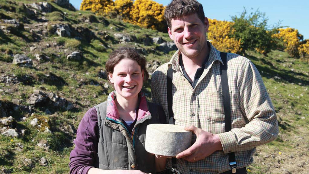 Young dairy farmers making waves with their Cumbrian Wensleydale