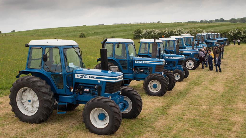 IN PICTURES: Impressive Ford/Fordson tractor collection goes under the hammer