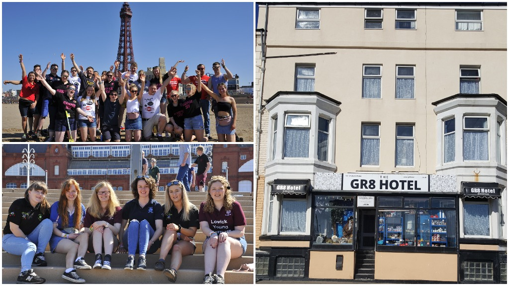 Blackpool hotel owner praises 'exceptional' Young Farmers after AGM