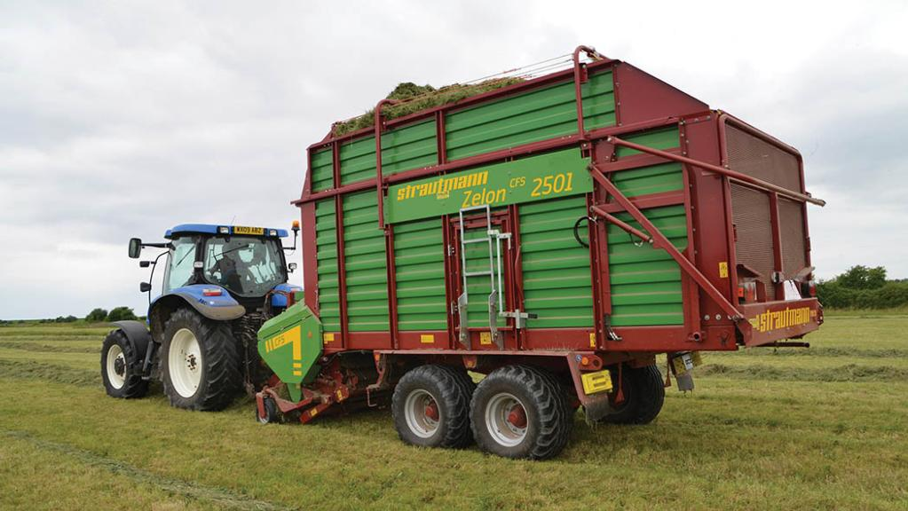 User story: Forage wagon helps take control of silaging