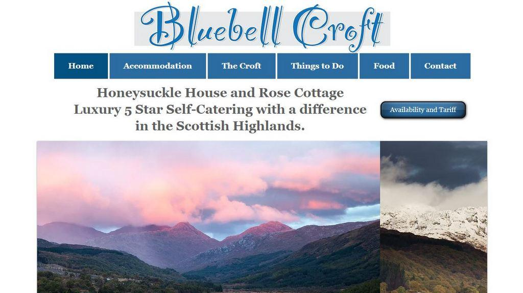 Bluebell Croft, Scotland