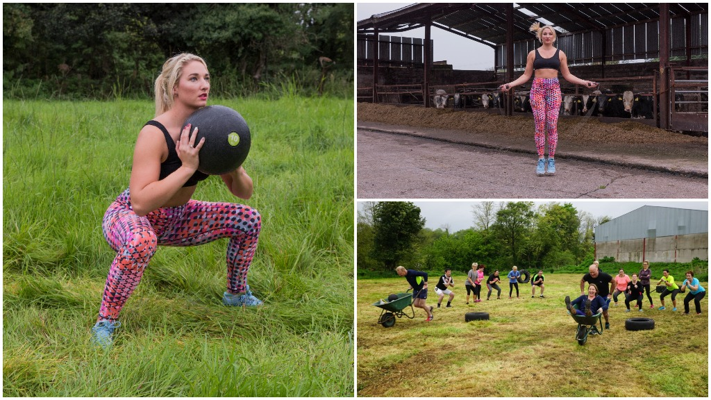 Meet the farmer's daughter who is leading the countryside fitness revolution