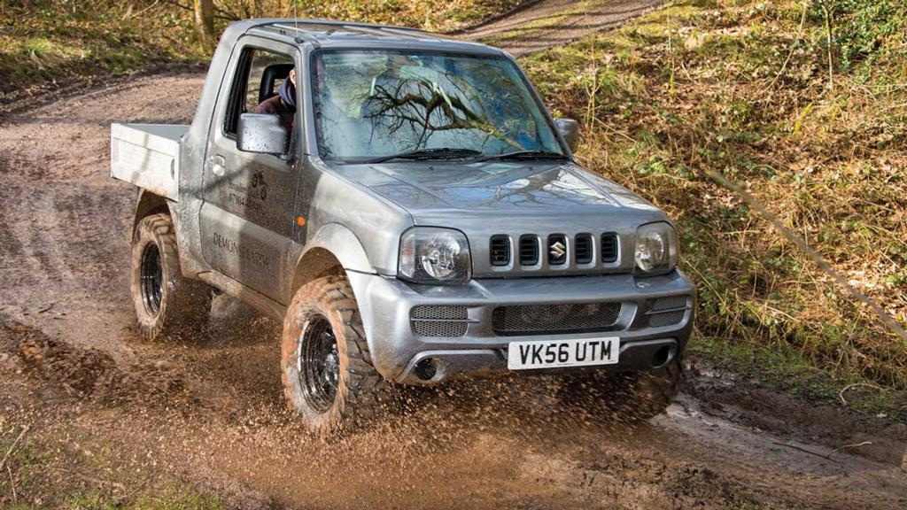 Converted Suzuki Jimny: Anything UTV can do, I can do better...