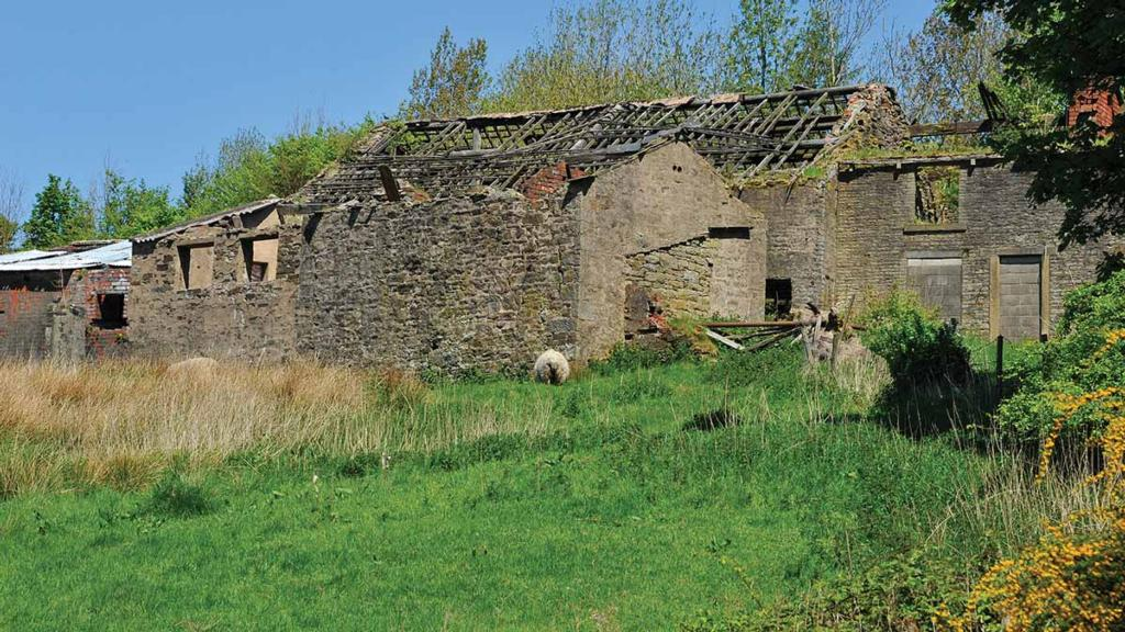 How to avoid unused farm buildings being termed as abandoned